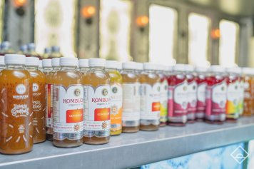 GT's Kombucha. Photo from Daybreaker