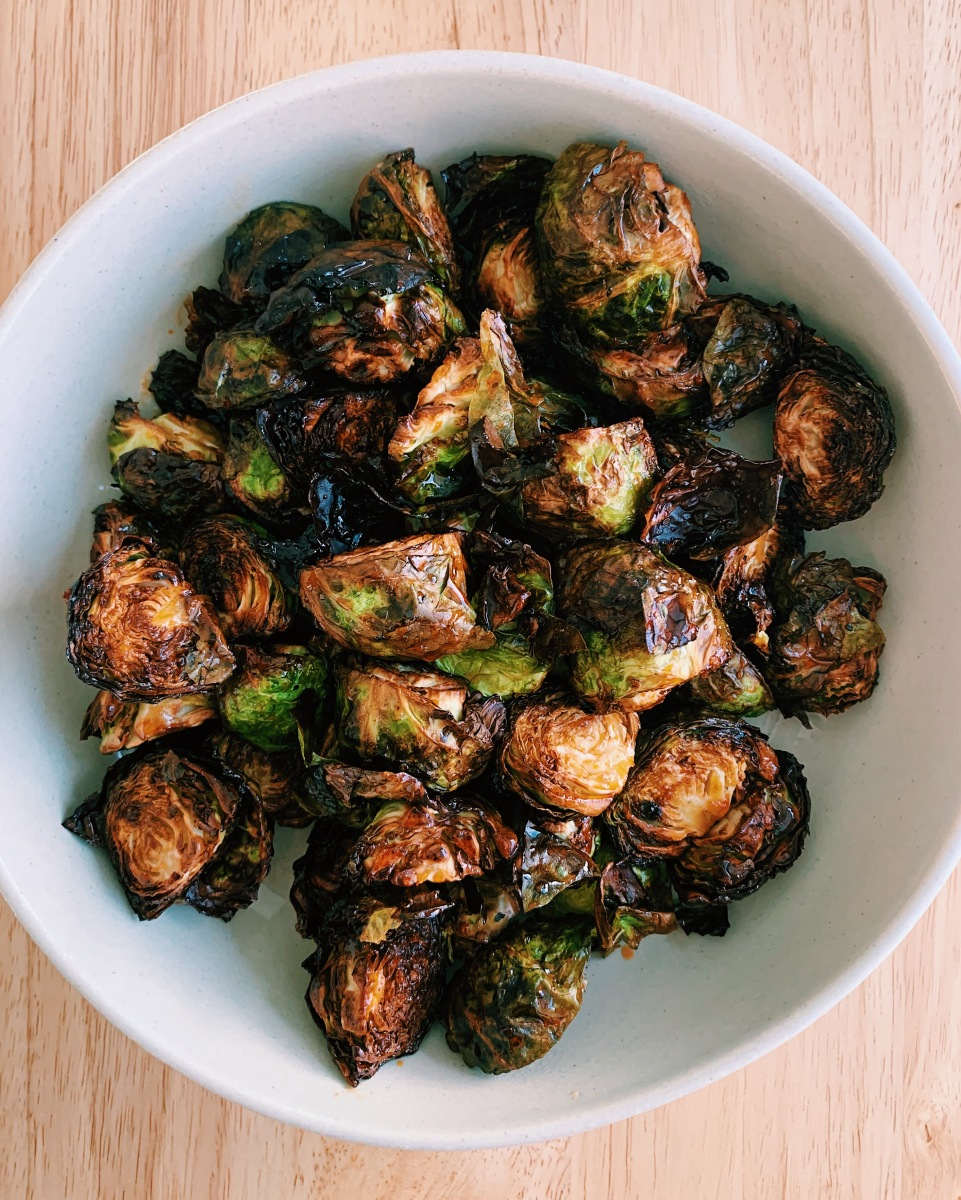 Sampan Copycat: Air Fried Brussels Sprouts